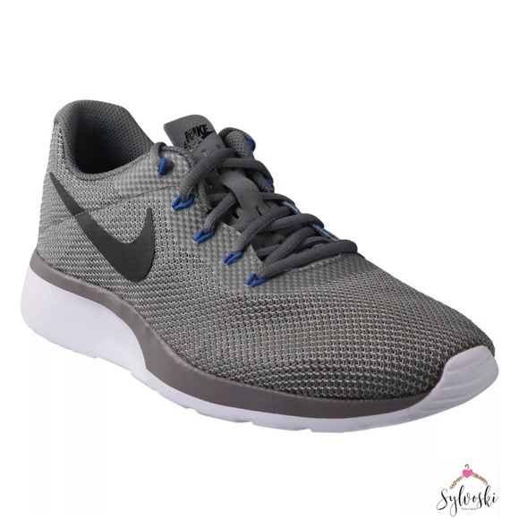 bdd7e175688ab 🆕NIKE TANJUN RACER MEN S GREY BLACK GUNSMOKE